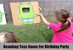 Beanbag Toss Game For Birthday Party