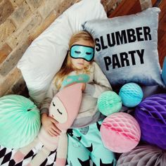 Harlequin Sleep Over Party! How Caa-ute! Host your own Pastel Pyjama Party with…