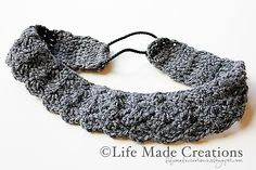 Ravelry: Crochet Head Band free pattern by Laura Hooker