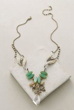Anthropologie Mountain Melody Necklace