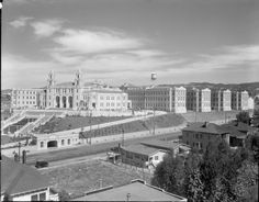 Highland Hospital, Oakland, California, 1928, newly completed