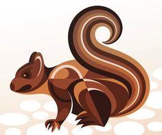 Vectorfunk Wildlife- A Graphic Design Project by Matt W. Moore