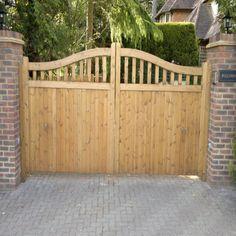 Ahşap Bahçe Kapısı Model 522
