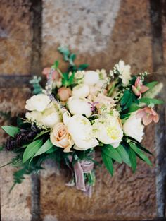 Elegant Hellebore Wedding Ideas via oncewed.com