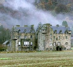 J.K. Rowling's home in Scotland: Killiechassie House by almajflores
