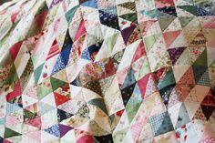 scrap quilt in progress | Flickr - Photo Sharing!