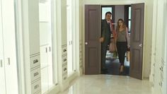 """Do I get you a ring?""   ""No.. Just give me a really big closet!""  Mr. Big & Carrie"