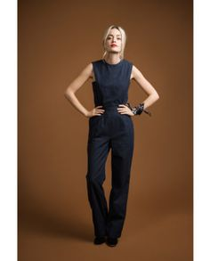 TUTO – Lining the upper part of the Acacia Jumpsuit Woman Jumpsuits button front womans jumpsuit pattern Sewing Blogs, Pdf Sewing Patterns, Vintage Patterns, Sewing Designs, Vogue Patterns, Vintage Sewing, Sewing Ideas, Sewing Projects, Light Denim