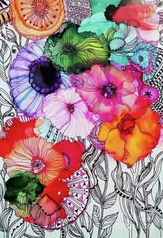 Flowers Painting - Lightfoot by Wendy Westlake