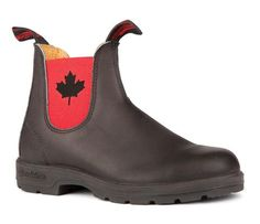Blundstone 1474 - The Leather Lined Eh! Boot in Black with Red Elastic Safety Work Boots, Pull On Boots, Coast Outfit, Blundstone Boots, Steel Toe, Shoes Online, Black Boots, Chelsea Boots, Ankle Boots