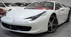 ferrari 458 italia 2014 white