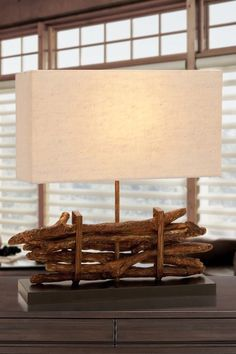 Driftwood Lamp by Coastal Living Decor on @HauteLook