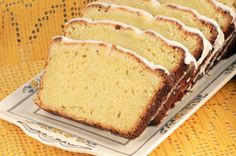 Candied citrus and ginger pound cake - recipe from Chef Hosea Rosenberg