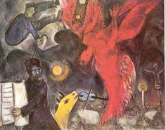 Marc Chagall – Upadek Anioła