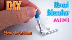 tutorial: miniature hand blender