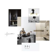 Mood board for a upcoming branding project . Loving the vibe! Layout Inspiration, Moodboard Inspiration, Branding Process, Design Process, Portfolio Design, Mood Boards, Layout Design, Minimalism, Branding Design
