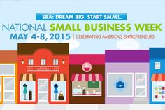 Small Business Week Online Events For Entrepreneurs and Owners #DreamSmallBiz