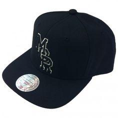 Mitchell & Ness Manchester black snapback cap.