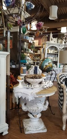 Consignment Store Displays, Plum, Table Settings, Furniture, Design, Home Decor, Decoration Home, Room Decor