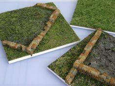 model grass samples