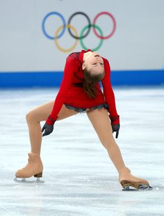 Yulia Lipnitskaya of Russia competes in the Figure Skating Ladies' Free Skating on day 13 of the Sochi 2014 Winter Olympics at Iceberg Skating Palace