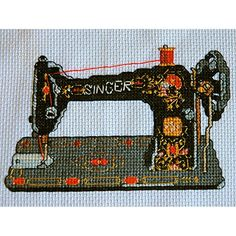 Vintage Sewing Machine PDF - tinymodernist.