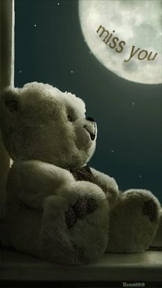 ☆ Missing you...but when I look up into the sky I know you're seeing the same moon and it comforts me.