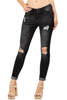 jeans mom ripped skinny dress DIY boyfriend best flare recycle bootcut for curves high waist upcycling jeans denim #jeans #denim #denimfashion #denimmadewell #women #womensfashion #fashion #fashionillustration #fashionbloggers #fashiongoals #casual #casualstyle #pants #clothing #clothes #summer #summerstyle #mom #momjeans #skinnyms Chellysun Women's Juniors  Slim Fit Stretchy Skinny Jeans