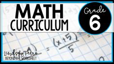 Beyond The Worksheet With Lindsay Perro A Look Inside Worksheets Math Curriculum
