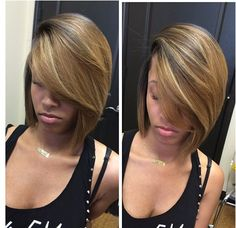The color of this bob is everything.