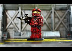 Halo 4 Red Team Custom Minifigure