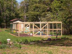 Fenced in Vegetable Garden by gardentrek, via Flickr