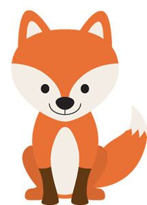 1017 FOX CARTOON  Nursery Bedroom Playroom vinyl wallart DECAL  | eBay