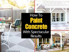 How To Paint Concrete For Spectacular Results -