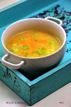 R'n'G Kitchen: Zupa krem z białych szparagów