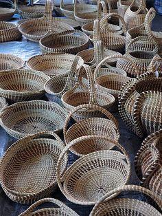 Sweetgrass basket   Charleston South Carolina