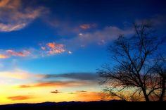 Santa Fe sunset, New Mexico