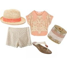 """""""Summer Outfit"""" by ebonyvintage-nahoot on Polyvore"""