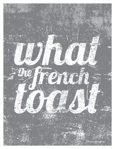 What the French Toast 85x11 fits in 8x10 opening by BalancingHome, $12.50