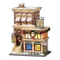 Department 56 Snow Village Series Hope Chest Consignment Shop * Click on the image for additional details.