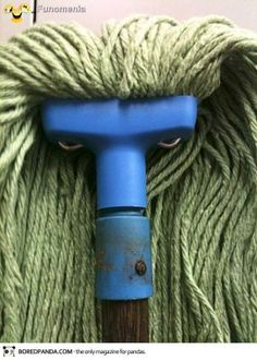 Последние добавления - things with faces Angry mop #imagination #fancy #fantacy #face #gag #giggle #look #mask #amusing #pictures #joke #funny - Funomenia