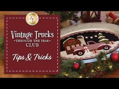 Vintage Trucks Club: Tips & Tricks Embroidery Scissors, Embroidery Needles, Machine Embroidery, Homemade Tables, Wool Mats, Wool Applique Patterns, Shabby Fabrics, Brazilian Embroidery, Vintage Trucks