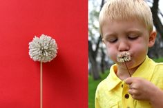TUTORIAL: Dandelion Pom Poms | Make with B this summer. she will love this!