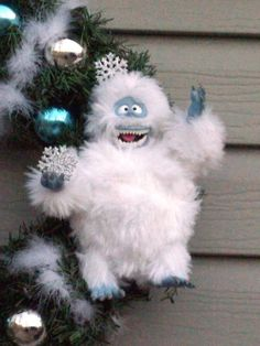 Abominable Snow Man Wreath