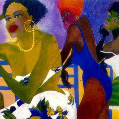 """""""les doucineuses"""" (1993) LA VILLA METISSE, Catherine Theodose"""