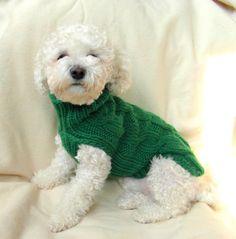 Ropa por BubaDog para mascotas ropa para perros Cable perro
