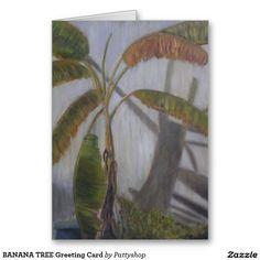 BANANA TREE Greeting Card