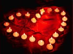 Romantic Tea Lights love red candles heart animated romantic love quote romance gif i love you