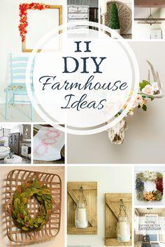 DIY farmhouse ideas | farmhouse style | DIY ideas | farmhouse DIY projects | DIY projects