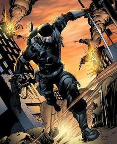Nothing beats the original version of Snake Eyes by Robert Atkins Comic Book Characters, Comic Books Art, Comic Art, Book Art, Thundercats, Cartoon Shows, Cartoon Pics, Transformers, Marvel Dc